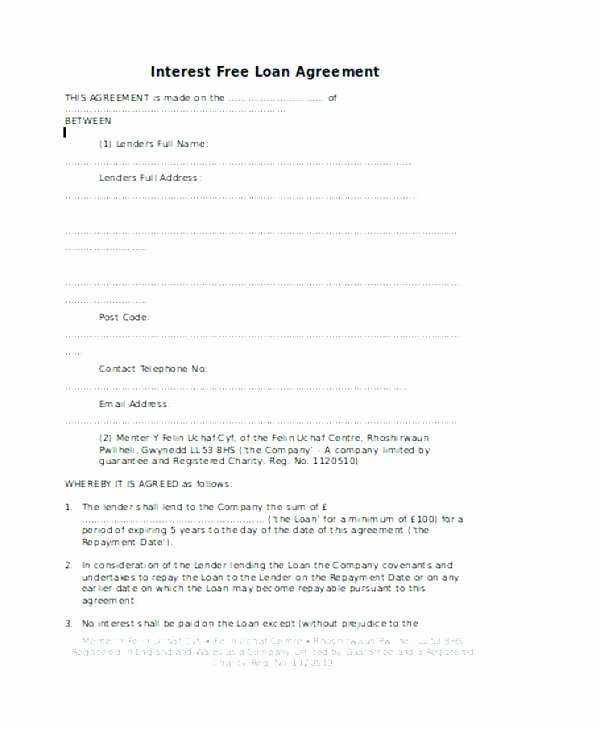 Family Loan Agreement Template Free Awesome Family Loan Agreement Template Free Download – Flybymedia