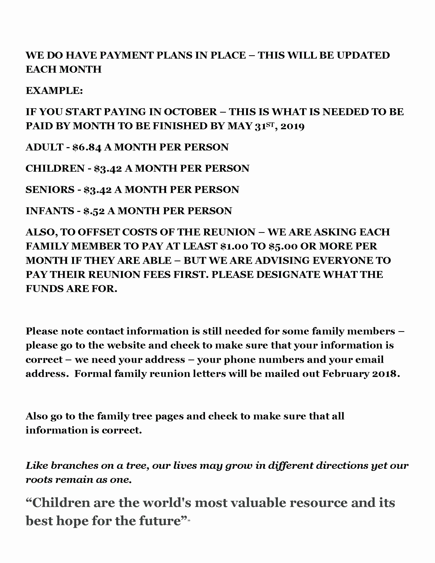Family Reunion Newsletter Template Beautiful Family Reunion Letter to Members Wel E Template