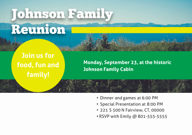 Family Reunion Newsletter Template Best Of 4 Line tools for Planning Your Family Reunion