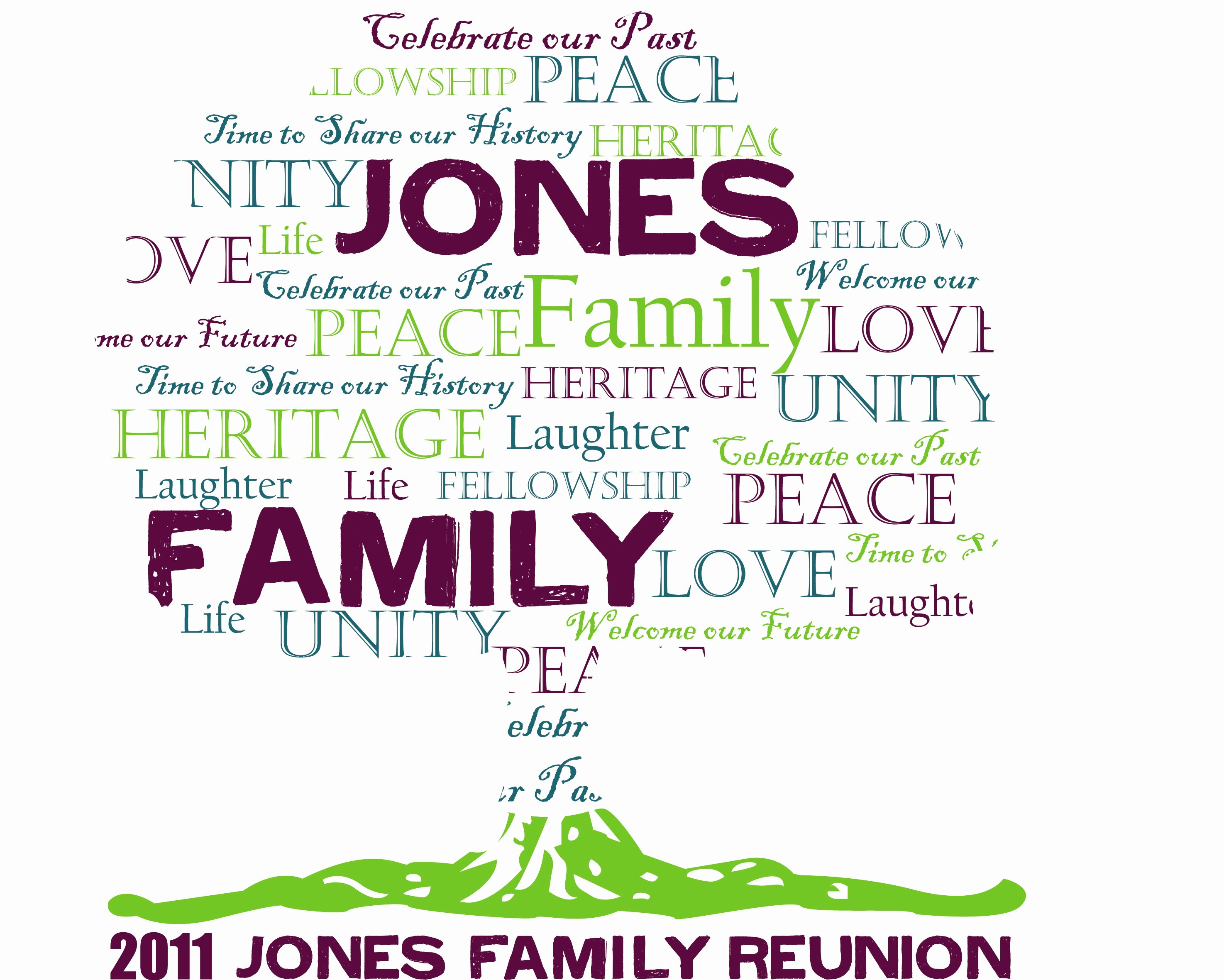 Family Reunion Newsletter Template Best Of Promotional Work by Natashia Privette at Coroflot