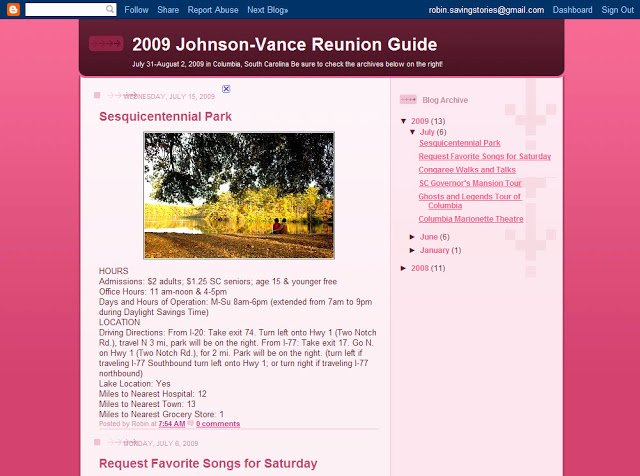 Family Reunion Newsletter Template Elegant Sharing the Legacy Reunion Ideas