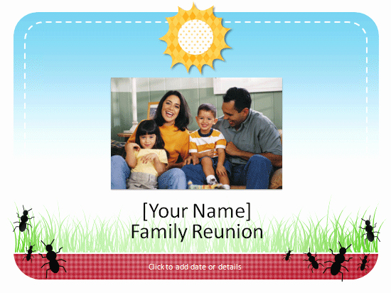 Family Reunion Newsletter Template Luxury Family Reunion Album Template