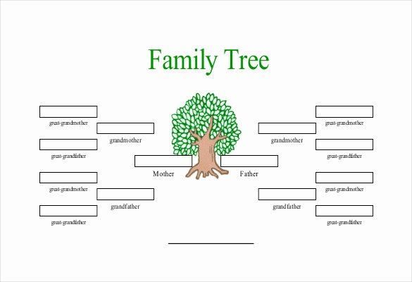Family Tree Website Template Beautiful Simple Family Tree Template 25 Free Word Excel Pdf