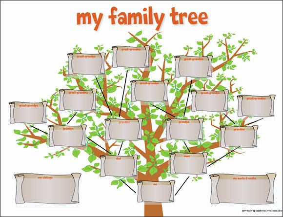 Family Tree Website Template New Family Tree Template 29 Download Free Documents In Pdf