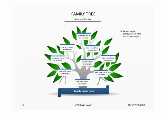Family Tree Website Template Unique 7 Powerpoint Family Tree Templates