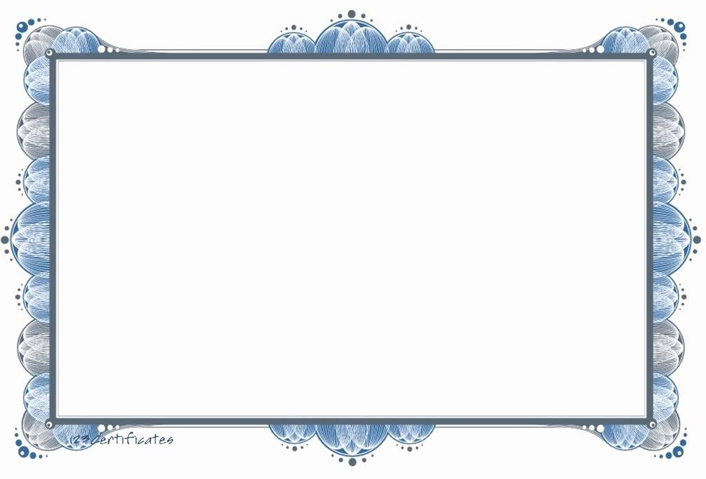 Fancy Gift Certificate Template Beautiful 12 Fancy Certificate Border Designs