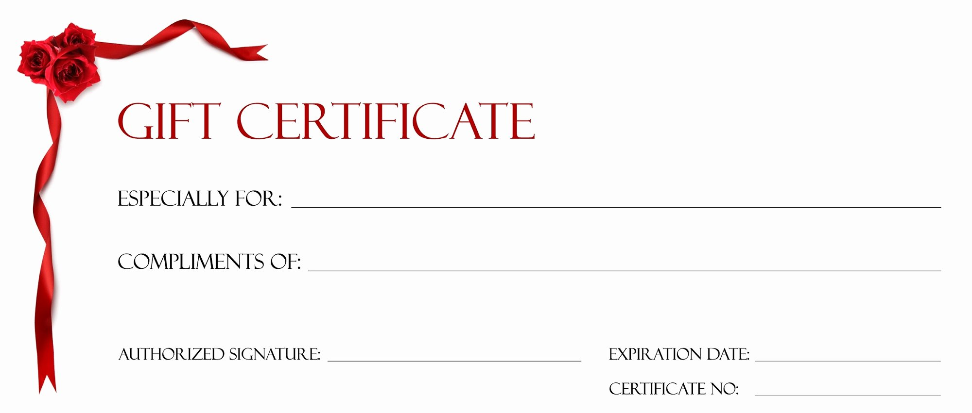 Fancy Gift Certificate Template Best Of Gift Certificate Template for Kids Blanks