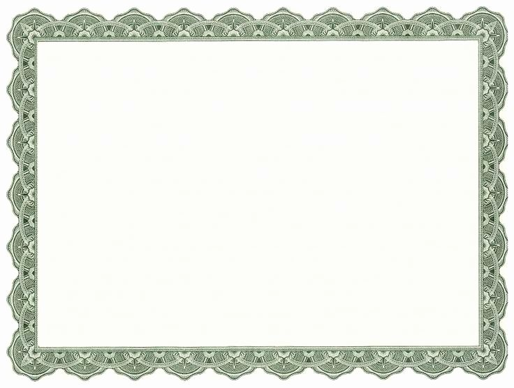 Fancy Gift Certificate Template Fresh Border Template for Certificates Fancy Certificate Free