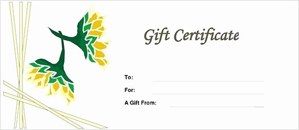 Fancy Gift Certificate Template Unique Birthday Gift Certificate Template Fancy – Yakult