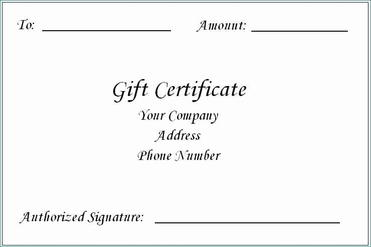 Fancy Gift Certificate Template Unique Word 2013 Certificate Template Fancy Gift Certificate