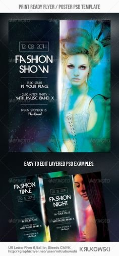 Fashion Show Flyer Template Awesome Yacht & Boat Party Flyer Template