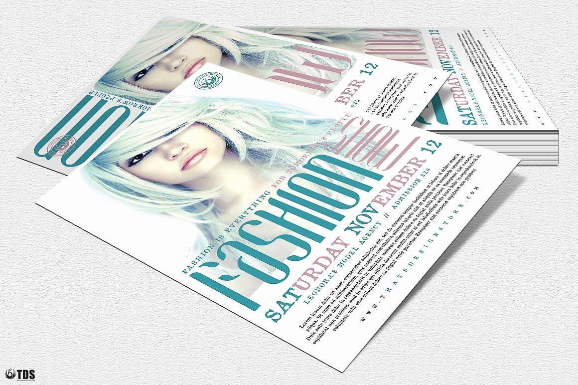 Fashion Show Flyer Template Beautiful Fashion Show Flyer Template V2