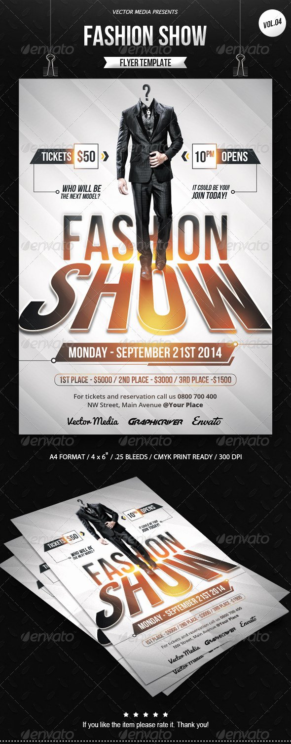 Fashion Show Flyer Template Best Of Car Show Poster Templates Tinkytyler Stock S