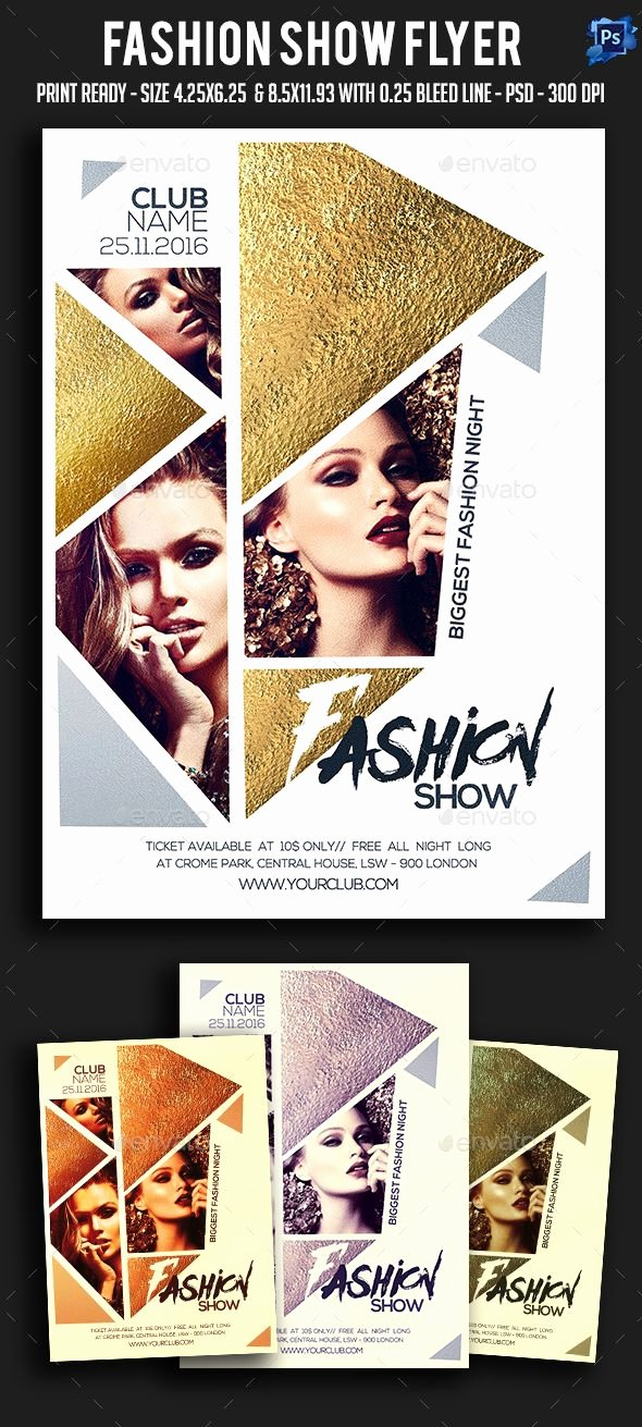 Fashion Show Flyer Template Inspirational 1000 Ideas About Poster Presentation Template On