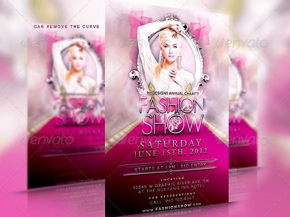 Fashion Show Flyer Template Inspirational 38 Psd Flyers for Fashion Show & Promo – Desiznworld