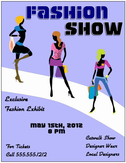Fashion Show Flyer Template New Flyer Tutor Graphic Design Blog Crop In Inkscape