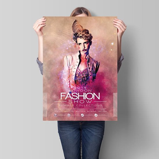 Fashion Show Flyer Template New London Fashion Show Flyer Template Download