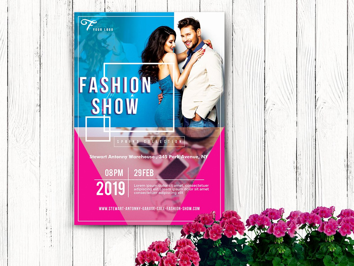 Fashion Show Flyer Template Unique Fashion Show – Flyer Templates – Xcreative