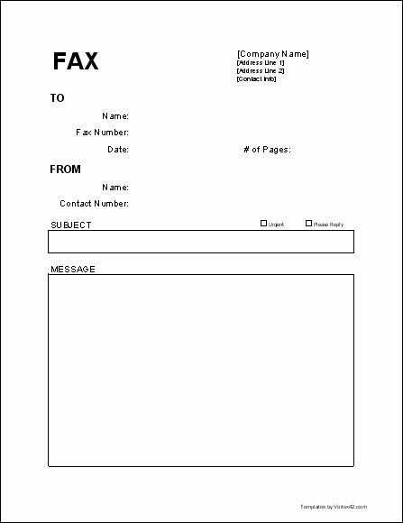 Fax Template Microsoft Word Best Of Fax Cover Letter Template Beepmunk