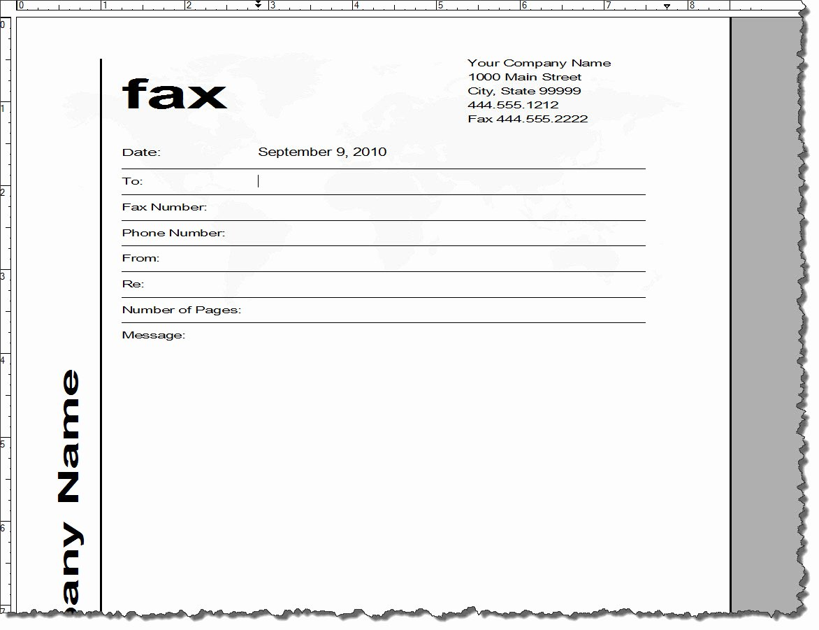 Fax Template Microsoft Word Elegant Adobe Framemaker 9 Default Document Templates