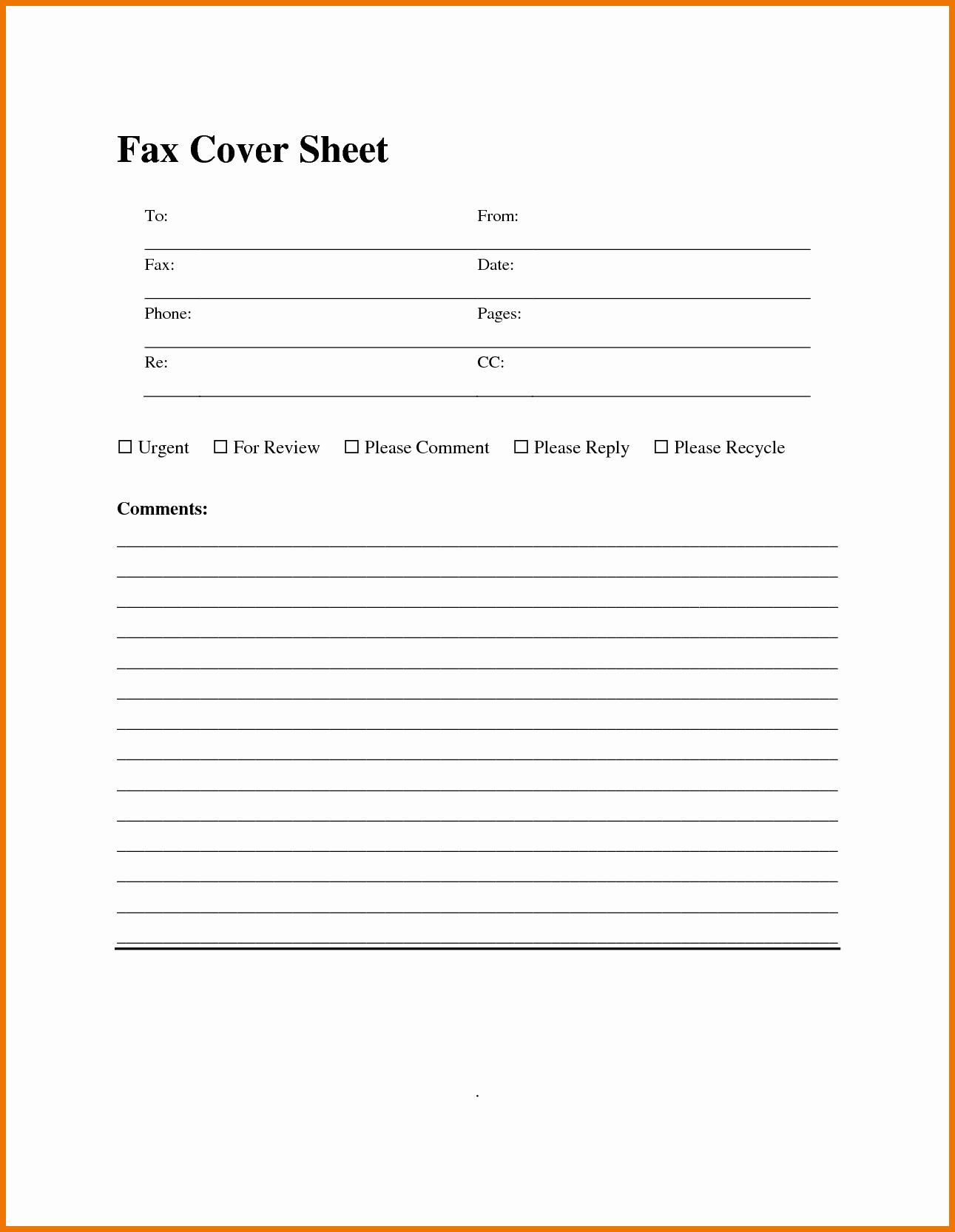 Fax Template Microsoft Word Elegant Fax Templates for Word Portablegasgrillweber