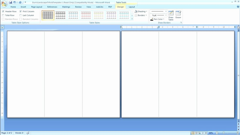 fax template microsoft