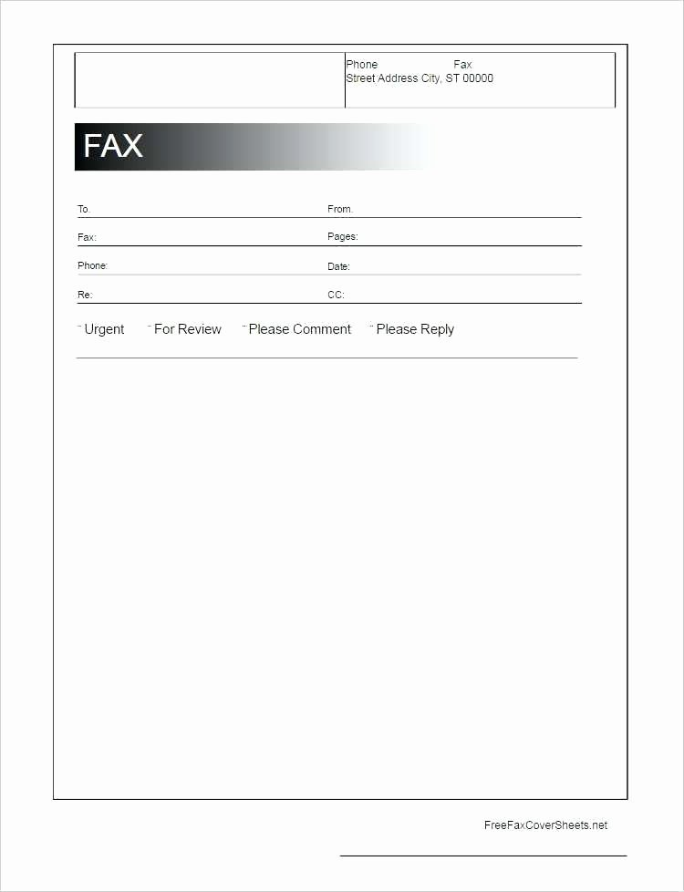Fax Template Microsoft Word Lovely Free Cover Fax Sheet for Fice Google Docs Adobe