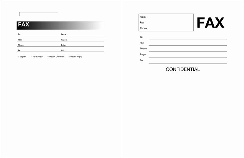 Fax Template Microsoft Word New 12 Free Fax Cover Sheet for Microsoft Fice Google Docs