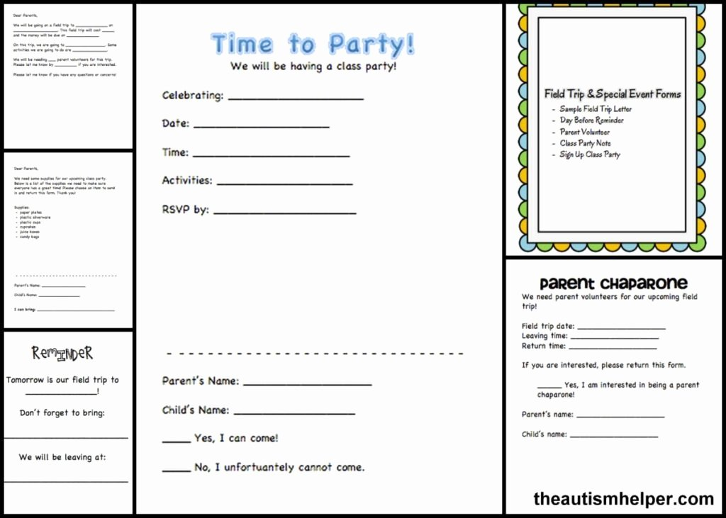 Field Trip form Template Unique Must Have forms & Templates the Key to Staying organized