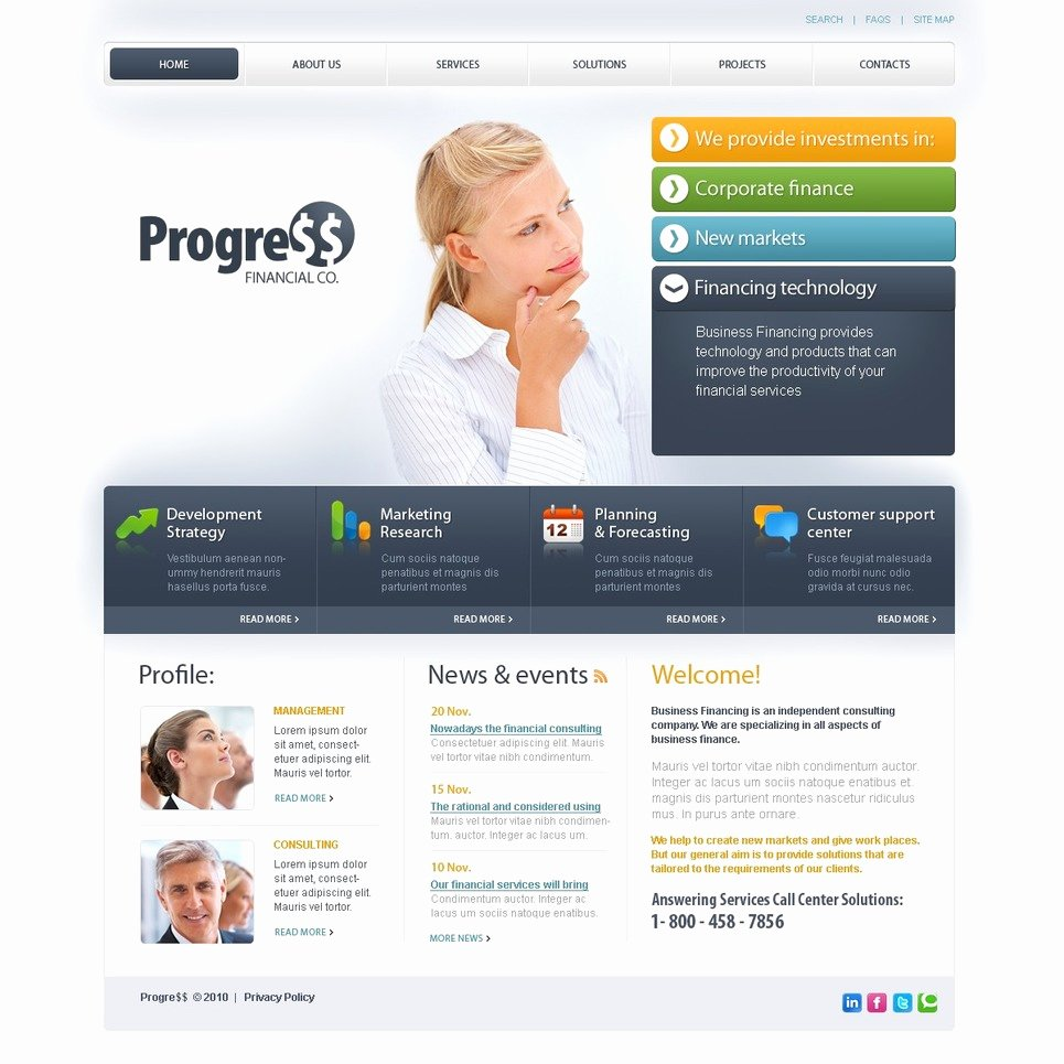 Financial Advisor Website Template Awesome Financial Advisor Website Template