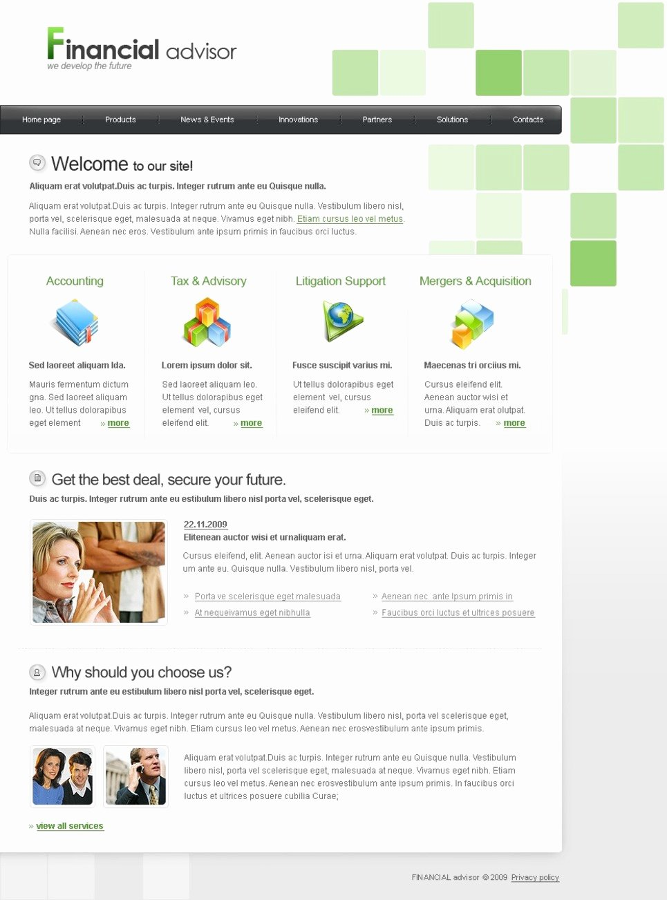 Financial Advisor Website Template Awesome Financial Advisor Website Template