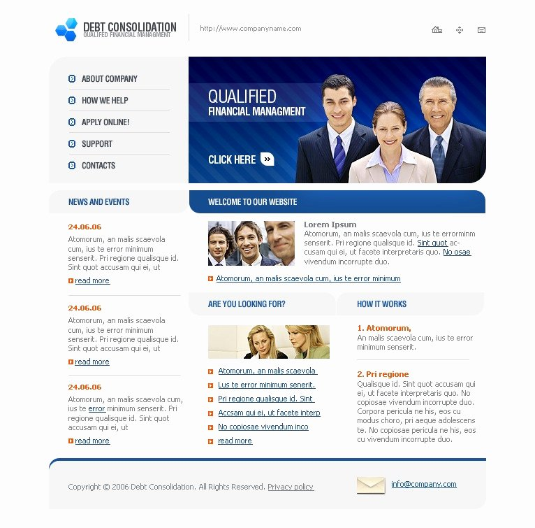 Financial Advisor Website Template Best Of Financial Advisor Website Template