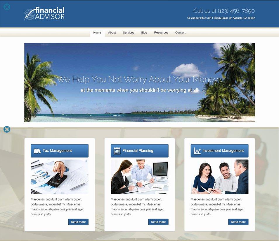 Financial Advisor Website Template Elegant 20 Best Website Templates for Financial Advisors