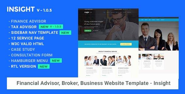 Financial Advisor Website Template Inspirational Financial Advisor Consulting Business Website Template