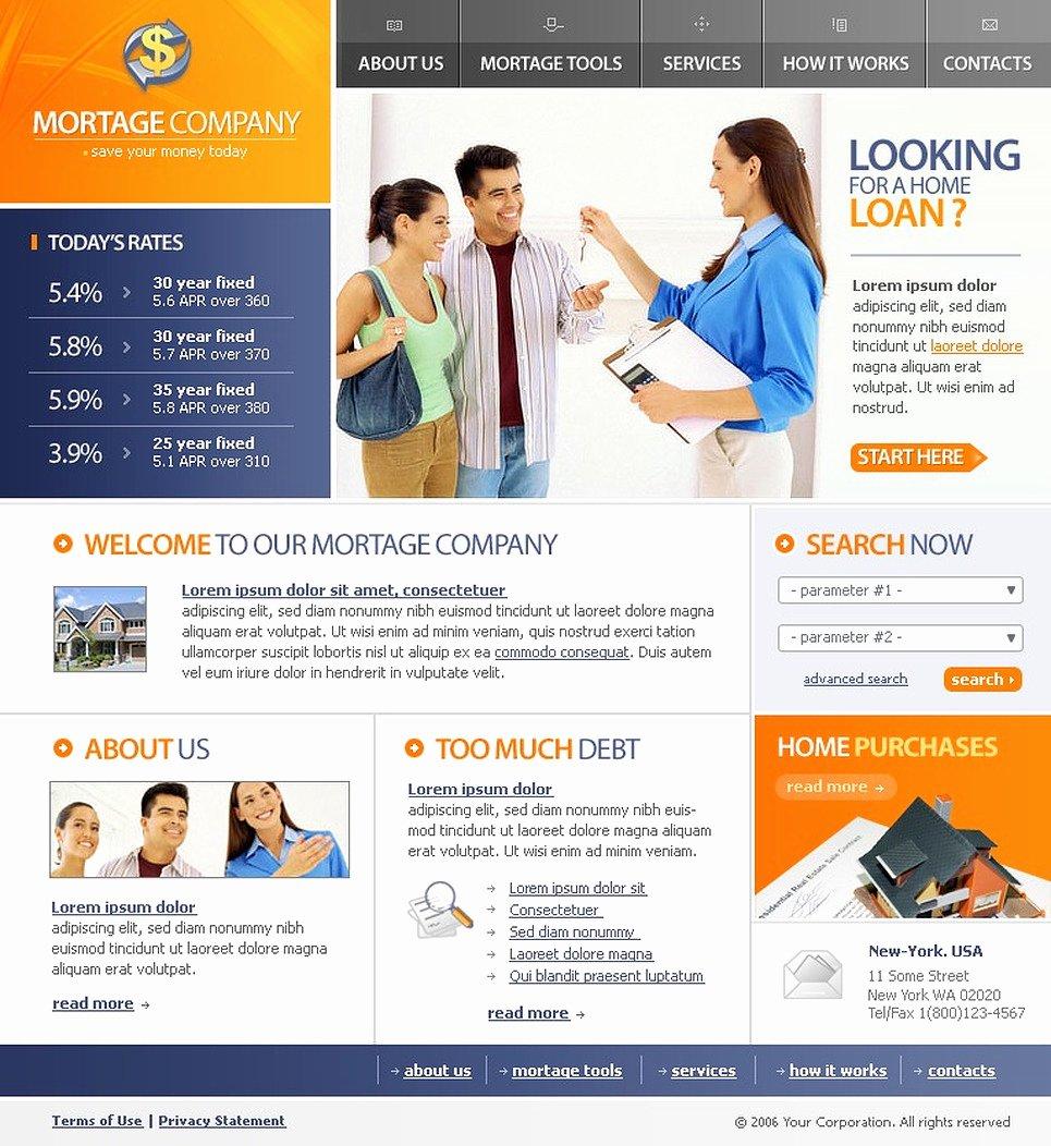 Financial Advisor Website Template Inspirational Financial Advisor Website Template