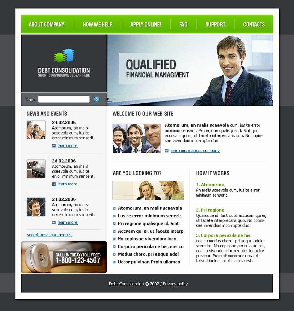 Financial Advisor Website Template Inspirational Financial Advisor Website Template Web Design Templates