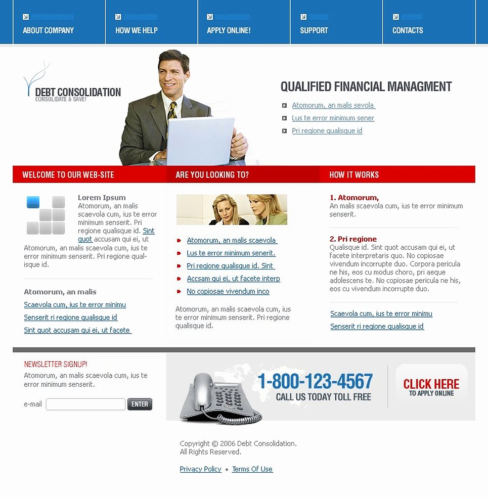 Financial Advisor Website Template Lovely Financial Advisor Website Template