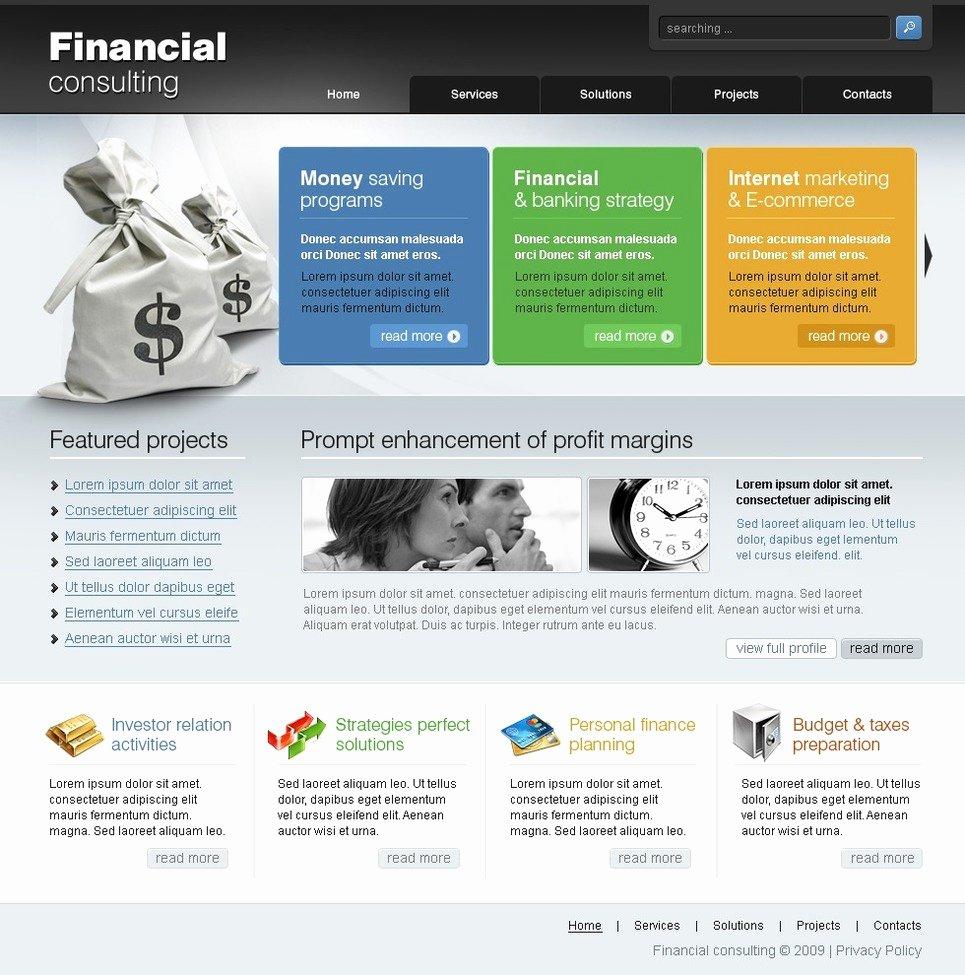 Financial Advisor Website Template Lovely Financial Advisor Website Template