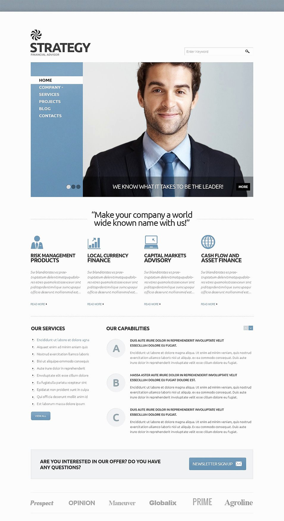Financial Advisor Website Template New 12 Best Financial Advisor Website Templates
