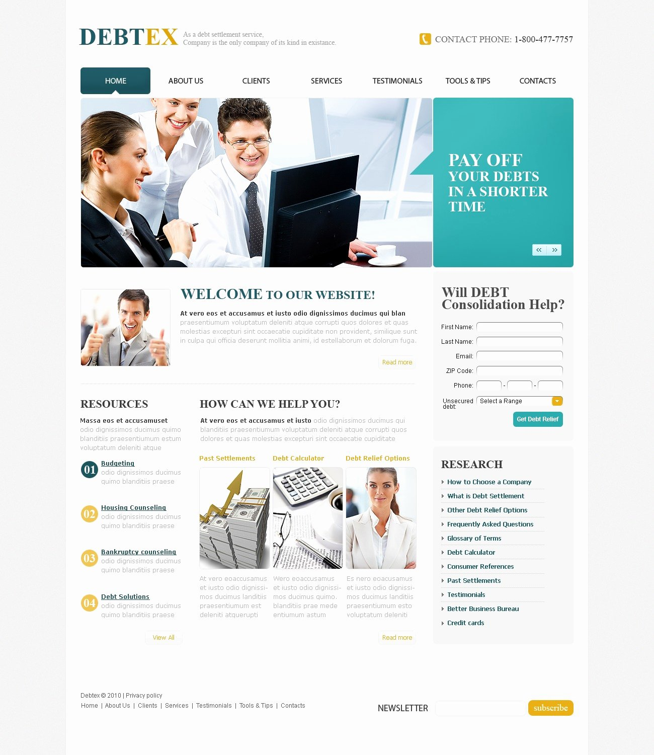 Financial Advisor Website Template New Financial Advisor Website Template