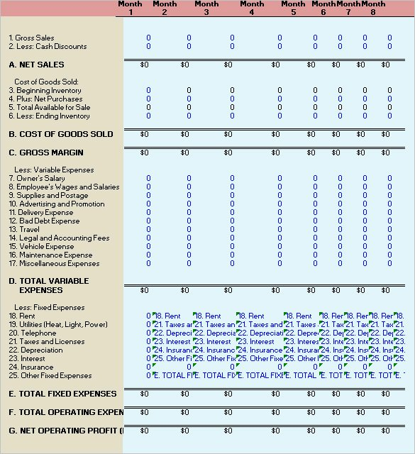Financial Analysis Excel Template Inspirational 11 Financial Analysis Templates Ai Psd Googledocs