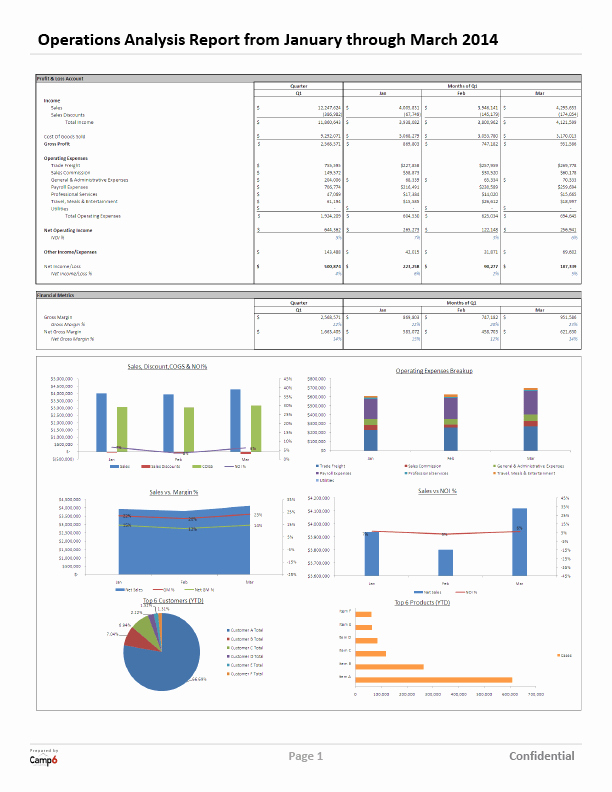 Financial Analysis Report Template Inspirational Financial Analysis and Reporting Services