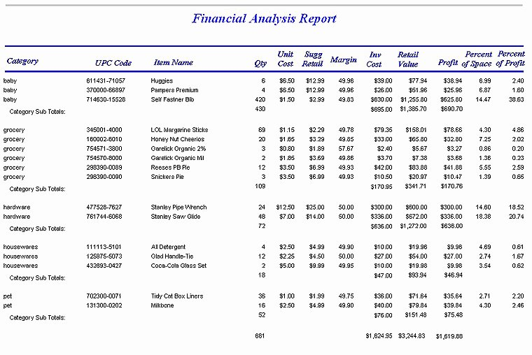 Financial Analysis Report Template Luxury Help for Freelance Writers