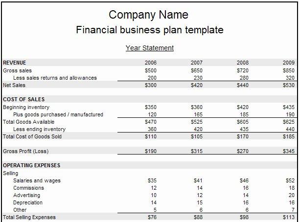 Financial Plan Template Free Unique Financial Plan Business Reportz515 Web Fc2