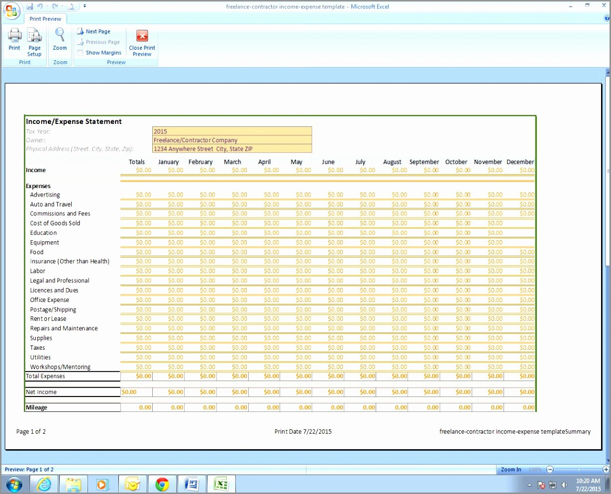 Financial Report Template Excel Awesome 5 Monthly Financial Report Excel Template Ryowo