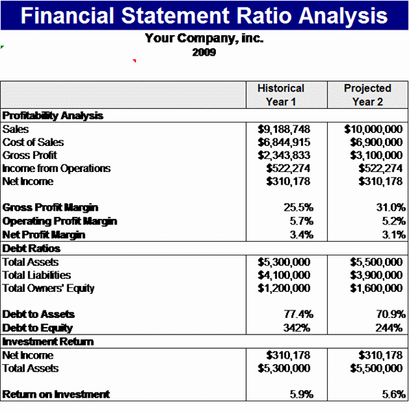 Financial Statements Excel Template Awesome 9 Financial Statement Templates Excel Templates