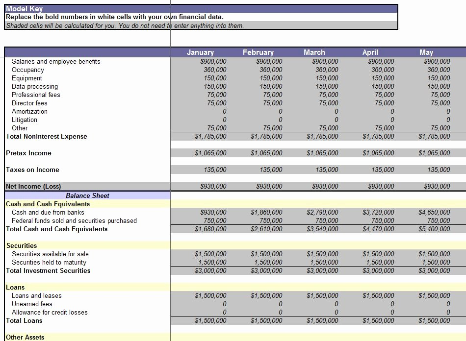 Financial Statements Excel Template Awesome Consolidation Report