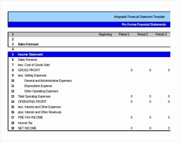 Financial Statements Excel Template Awesome In E Statement Templates – 23 Free Word Excel Pdf