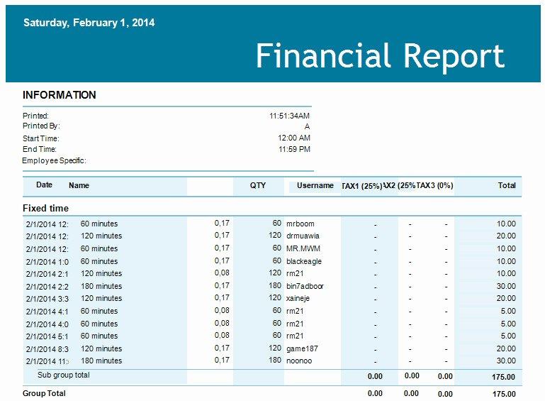Financial Statements Excel Template Elegant 5 Financial Report Templates Excel Pdf formats