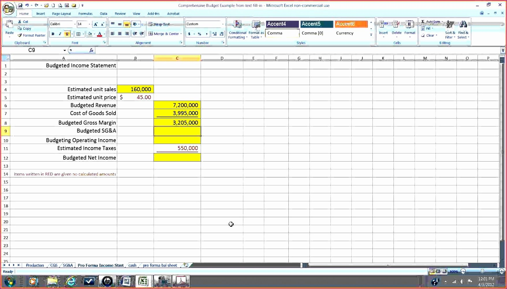 Financial Statements Excel Template New 6 Financial Statements Template Excel Exceltemplates